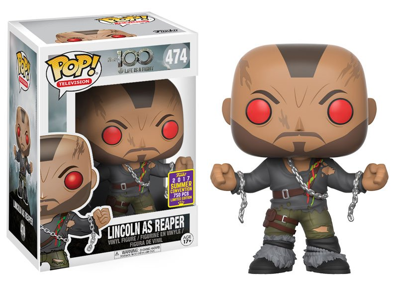 RT @OriginalFunko: RT & follow@OriginalFunkofor a chance to win an #SDCC 2017 exclusive Lincoln at Reaper Pop! https://t.co/8Oq626dxYr