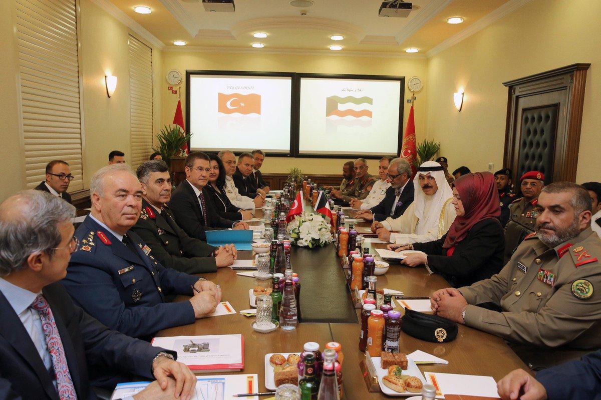 وزير الدفاع التركي يستقبل نظيره الكويتي في العاصمة أنقرة DHbF3LfW0AAjAl_