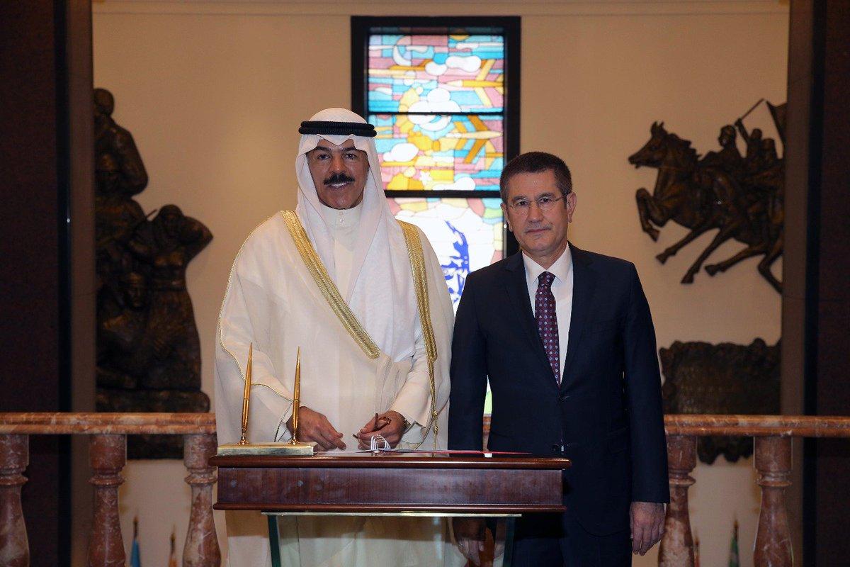 وزير الدفاع التركي يستقبل نظيره الكويتي في العاصمة أنقرة DHbF3LfXsAEYQE9