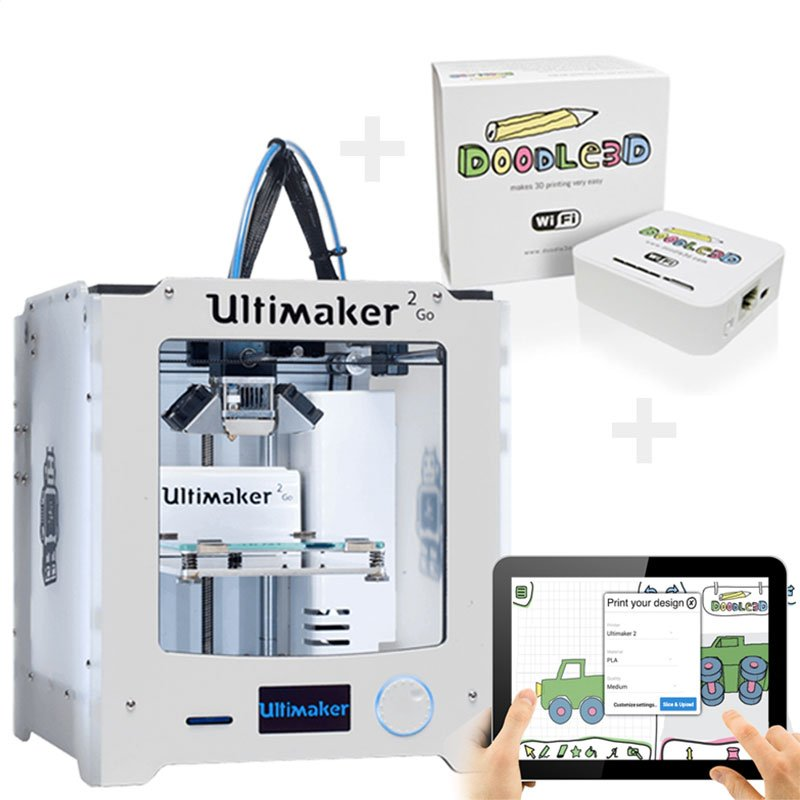 #wireless #3dprinting with #Ultimaker 2 series is now easy with Doodle3D and the WiFi-Box. No printer yet? Check  https:// shop.doodle3d.com  &nbsp;  <br>http://pic.twitter.com/QcDI1mXNmh