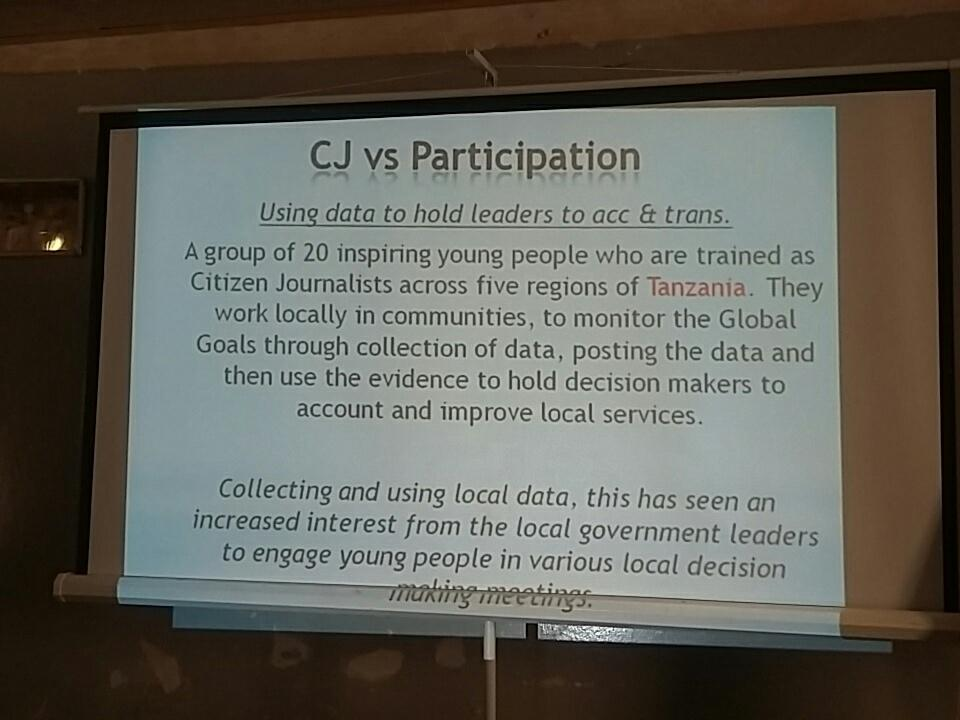 #CJ is helping increase youth participation and engagement in policy making &amp; holding decision makers to account #JumpstartZW @BBCAfrica<br>http://pic.twitter.com/DxRWPnSM1F