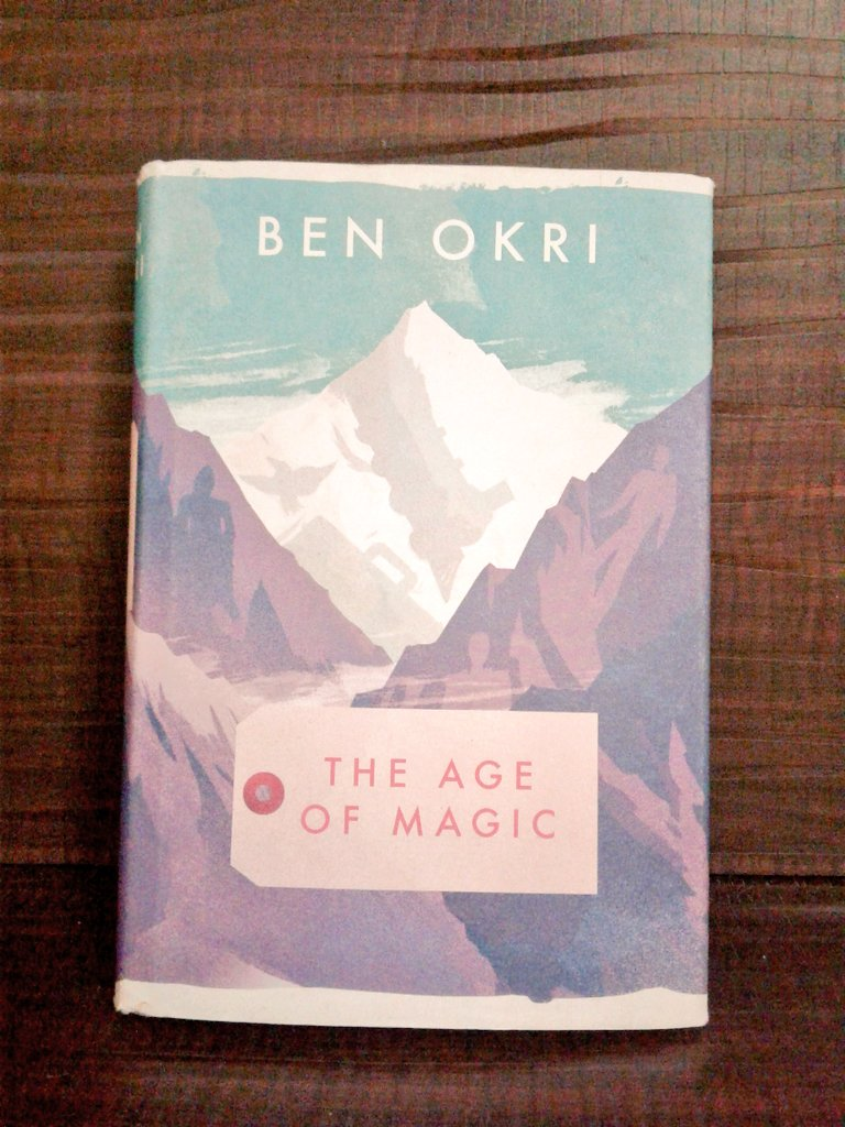 #BenOkri&#39;s #TheAgeofMagic express dissatisfaction wit careless bustle of our everyday lives not just through content,but through unusualform<br>http://pic.twitter.com/SxRMzziTdZ