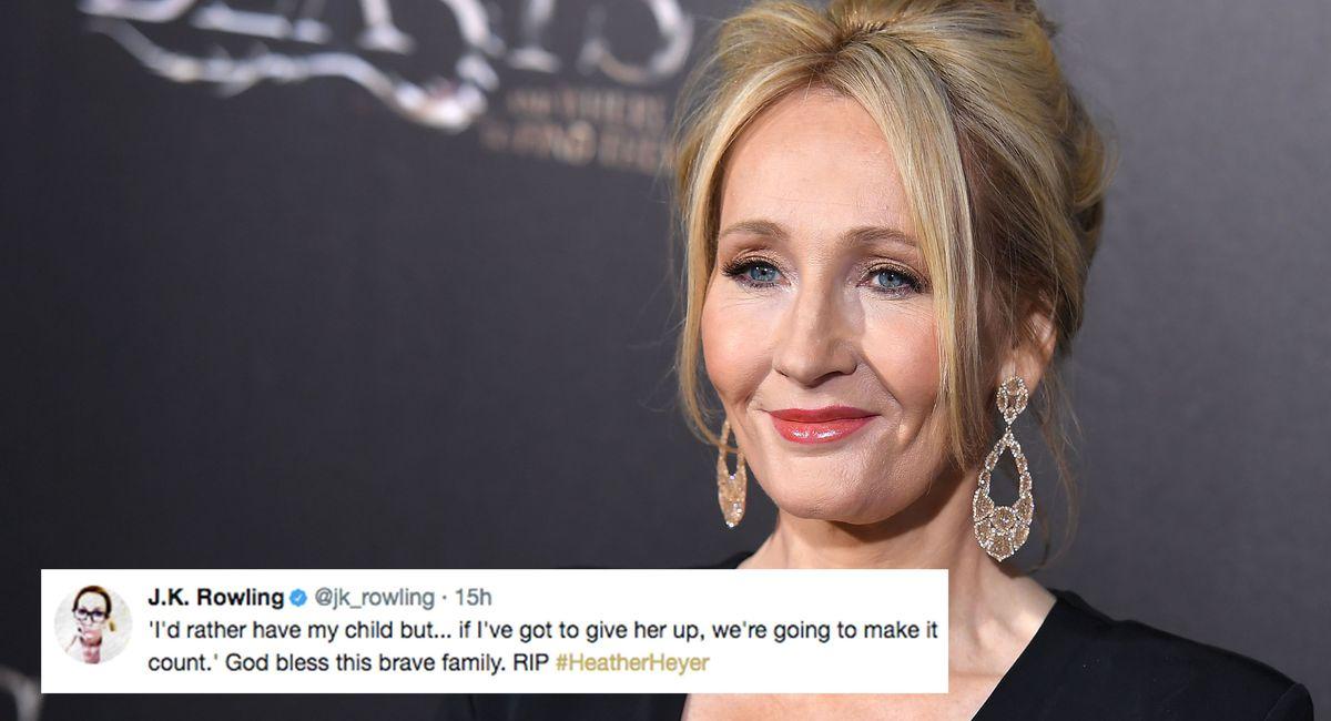 J.K. Rowling tweets heartbreaking video of Heather Heyer's mother https://t.co/rapfEgVbA3