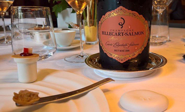 When the pink Lady #ElisabethSalmon2006 coming to your table... #vintage #billecart #gastronomy <br>http://pic.twitter.com/i4BmvT8Pao