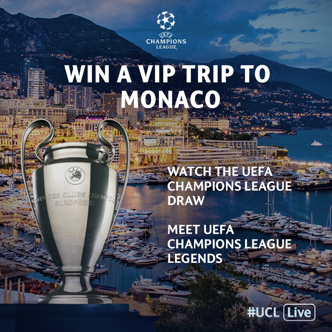 The glitz and glamour of Monaco AND the #UCLdraw 😍😍😍  👉👉👉 https://t.co...