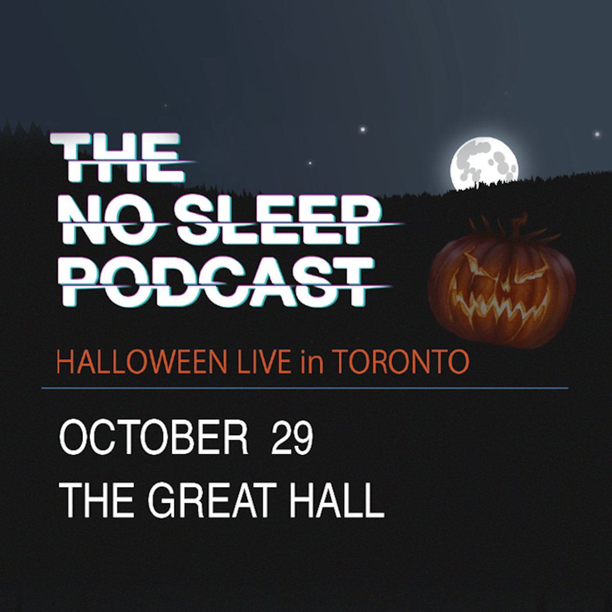 Halloween Live in Toronto tickets go on pre-sale today at 10a EDT. Use code: NoSleep for pumpkin-spiced tickets. https://t.co/VnVULNPcEE