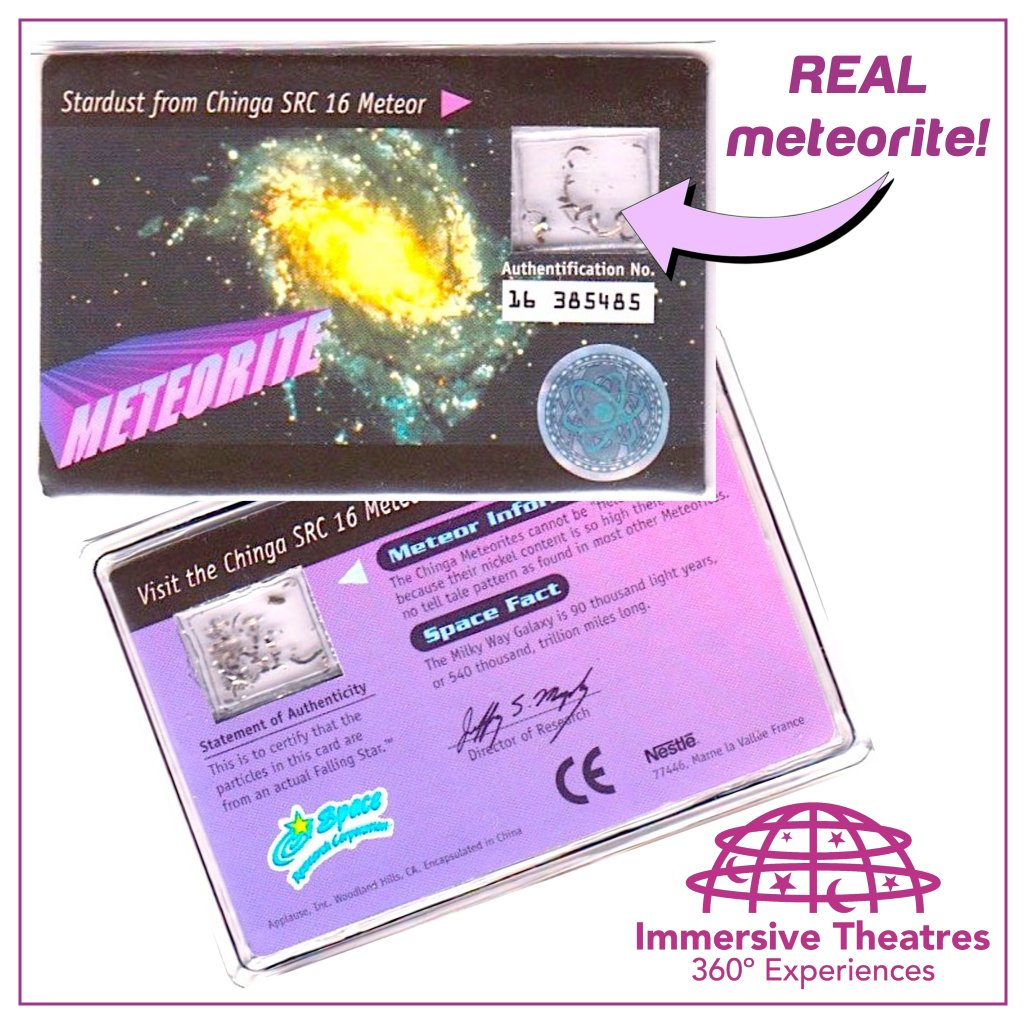 RETWEET before 5PM Friday to win a Meteorite Card #UKEdChat #science #UkEducation #KS1 #KS2 #scichat #edchat #EduChat #EdTech #BSW18 #STEM<br>http://pic.twitter.com/xk44Uh5C5b