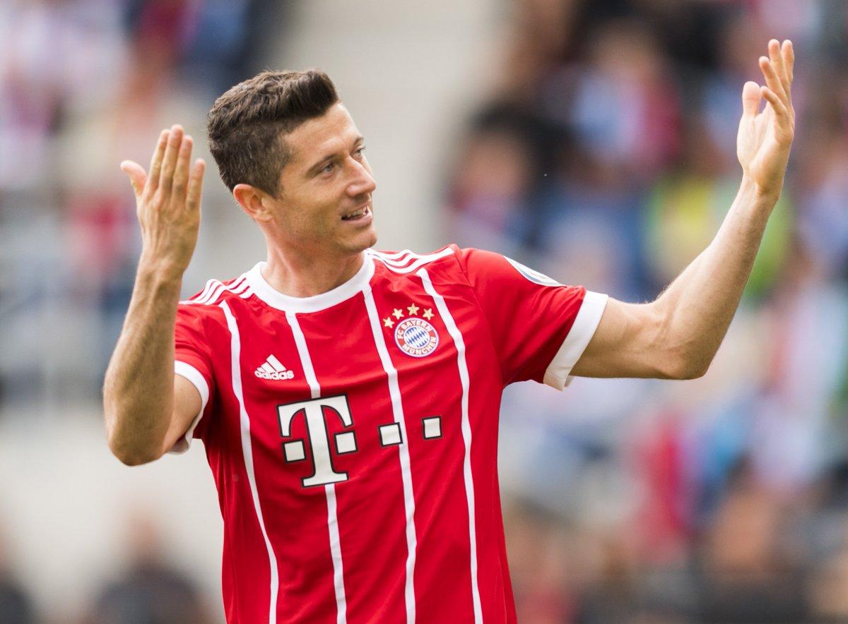 Robert Lewandowski scored 8 times in Europe last season...  How many #...