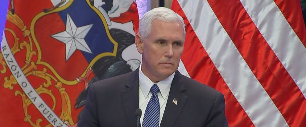 VP Mike Pence ducks questions about Pres. Trump's controversial Charlottesville remarks https://t.co/eiU2Vn9QWF