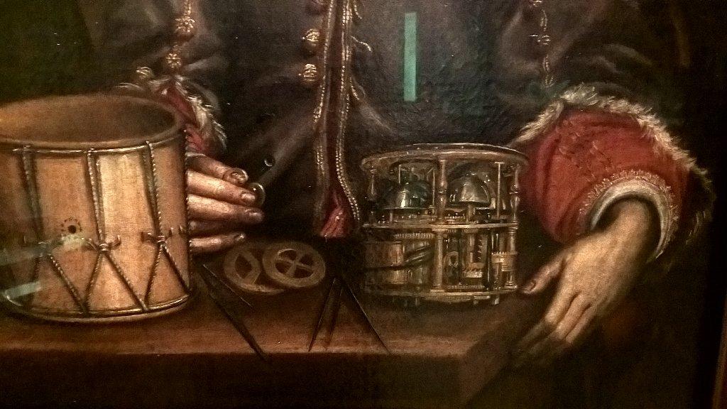 &quot;...Ex machina&quot; clock machine #engineers, By Wohl #Augsburg, #Berlin Historical Museum. #Reloj<br>http://pic.twitter.com/ljylffscmQ