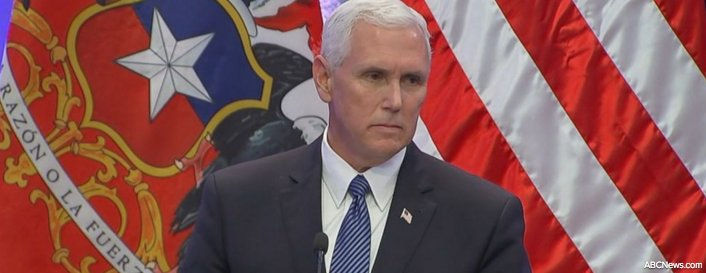 Pence ducks questions about Trump's controversial Charlottesville remarks: https://t.co/uv2RdFzOEF