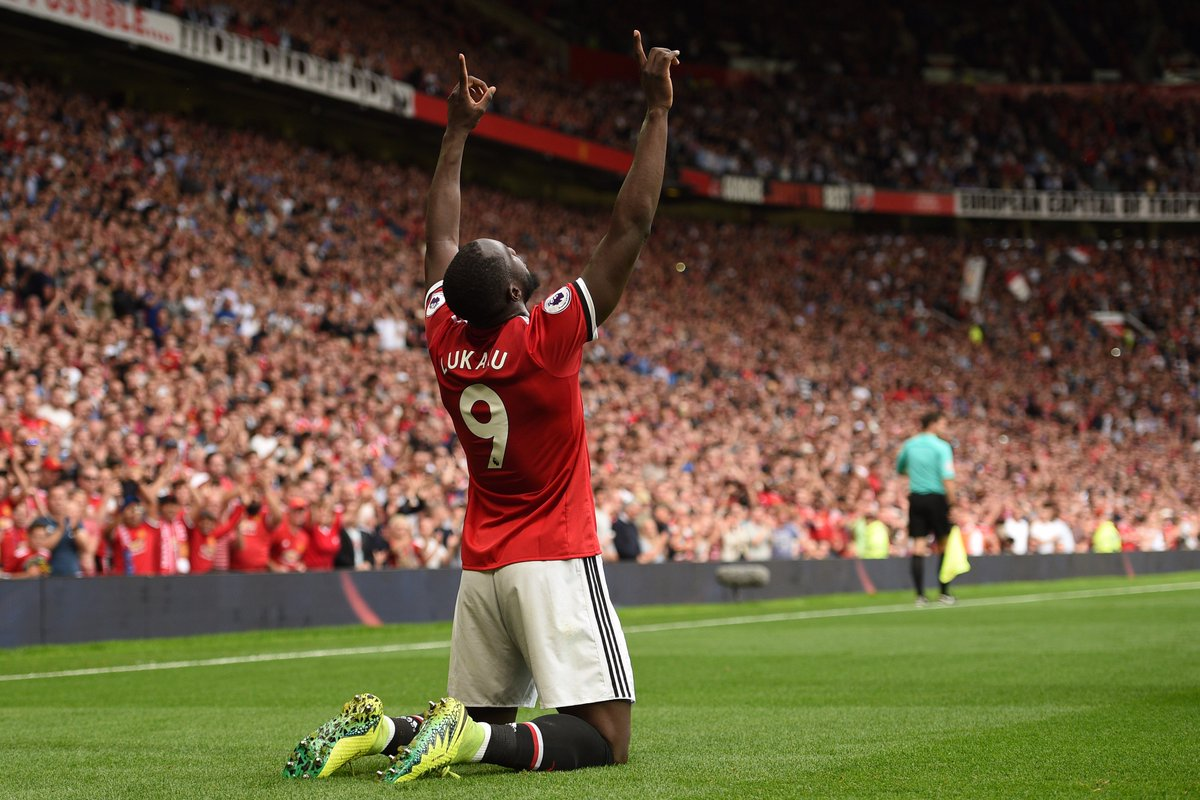 Romelu Lukaku ⚽️  Top scorer for Manchester United in the #UCL? https:...