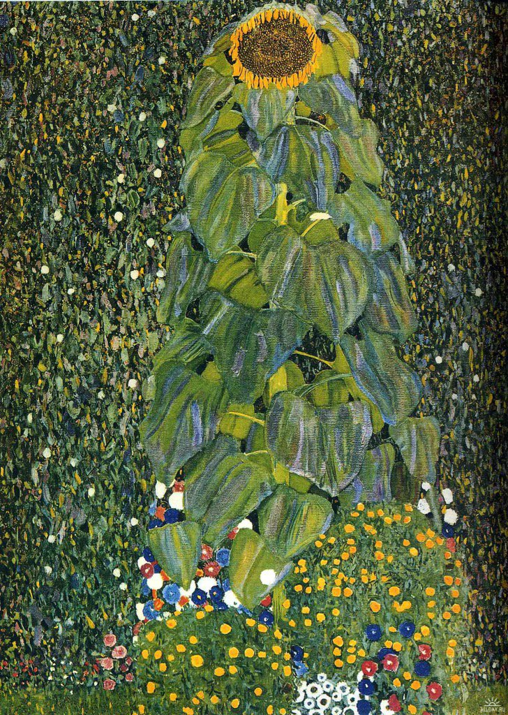 The Sunflower Gustav #Klimt 1906-1907 #WikiArtApp #painting #peinture #art #Tableau #flower   http:// bit.ly/18GCSaj  &nbsp;  <br>http://pic.twitter.com/xf3EkeixLH