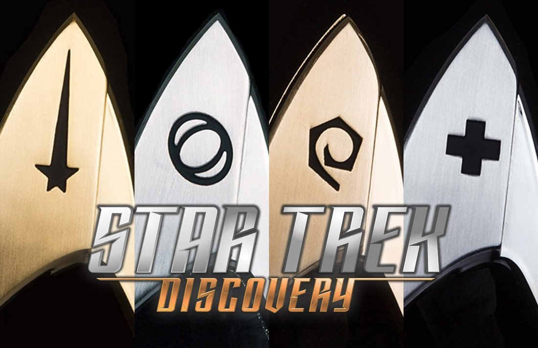 NEW: @QMxInsider's #StarTrekDiscovery insignia badges launch for onlin...