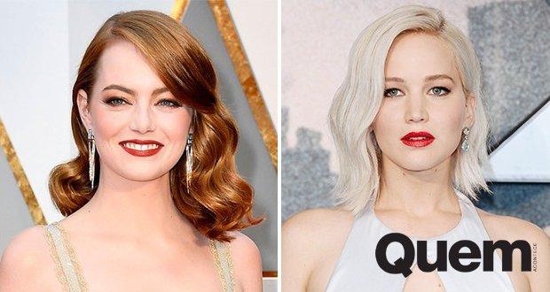 Emma Stone ultrapassa Jennifer Lawrence como atriz mais bem paga do mundo; veja ranking.  https://t.co/zY2NSCQZ6Q
