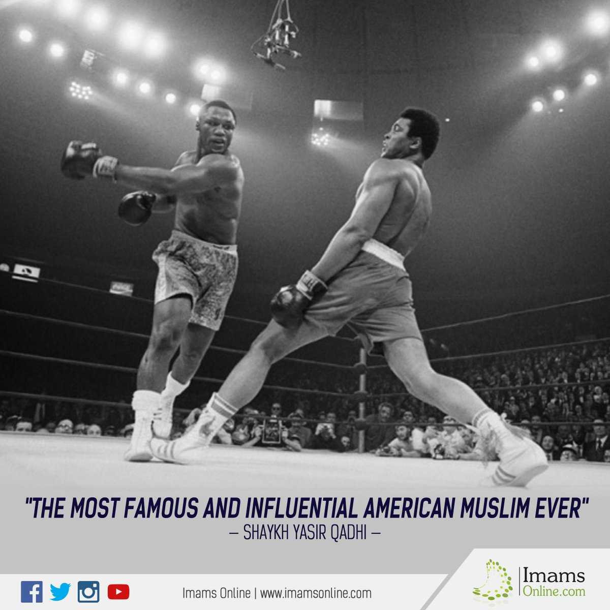 'The most famous and influential American Muslim ever' - Shaykh @Yasir...