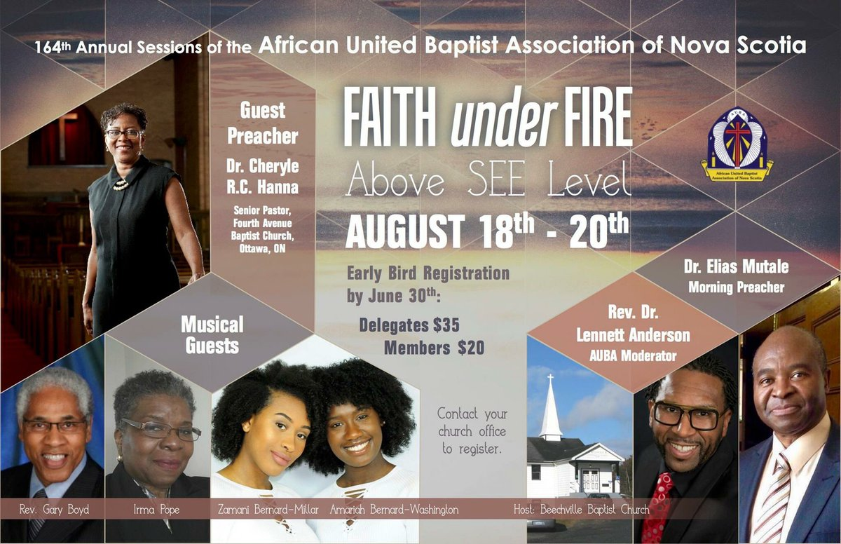 Listen, listen ~ my sister, Dr Cheryl R Hanna is travelling from our nations capital to the deliver an anointed word this weekend #AUBA <br>http://pic.twitter.com/ev8EGBAvKL
