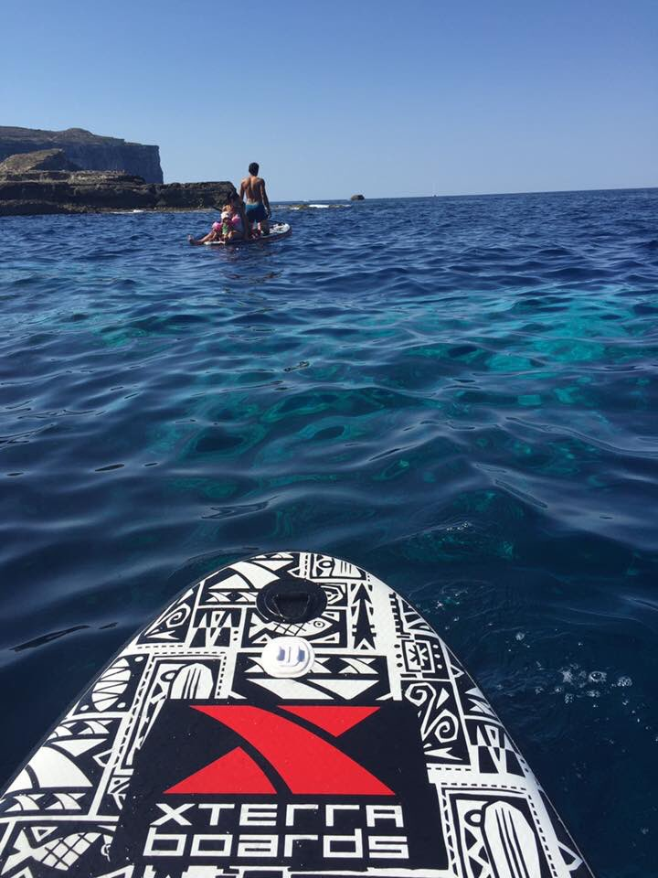 SUP on the gorgeous Gozo coast today! @XTERRAWETSUITS #visitMalta<br>http://pic.twitter.com/BOsK5EA5cn