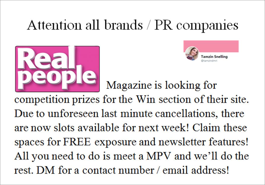 Did someone say free #exposure? #SmallBusiness #smallbiz #startup #startups #b2b #prrequest #journorequest #marketing #retweet #smb #sme <br>http://pic.twitter.com/KDqFCmekfa