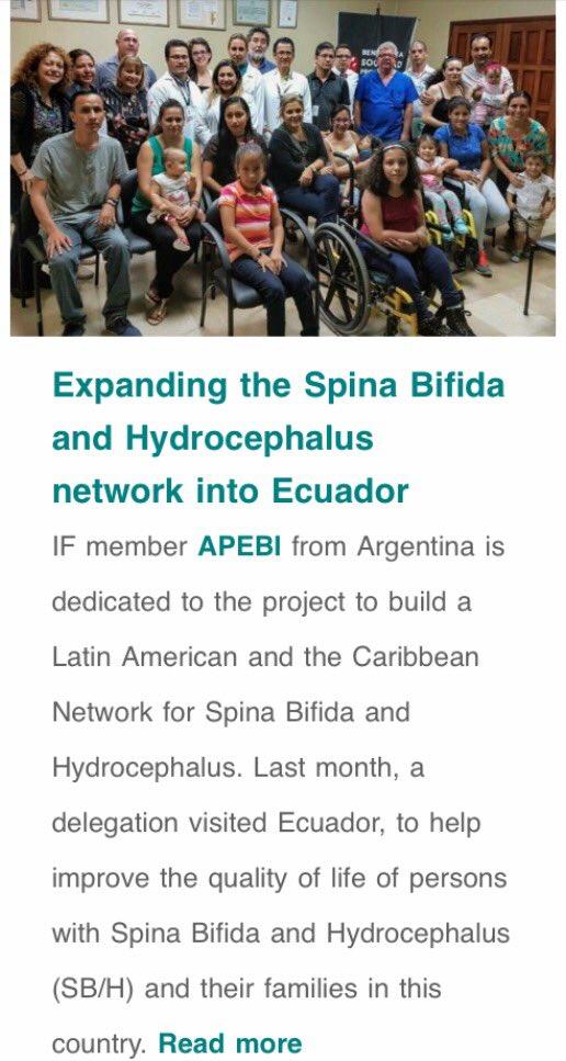 #Ecuador has its own #spinabifida network<br>http://pic.twitter.com/O4LkIsu5qh