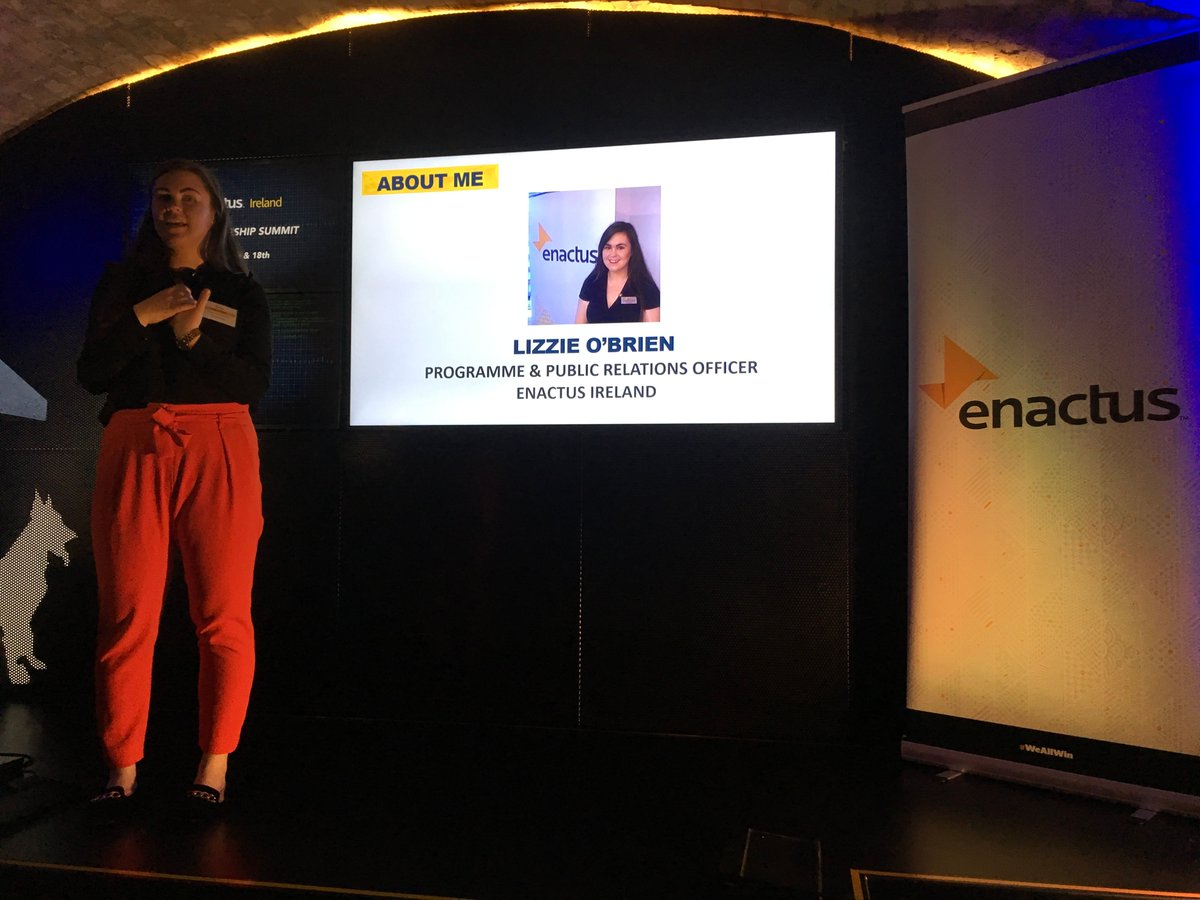 Ever wonder what @Enactus is? Today Lizzie is breaking it down for us. #Enactus is empowerment! #WeAllWin #EnactusTLS17<br>http://pic.twitter.com/WavLgd5zGU