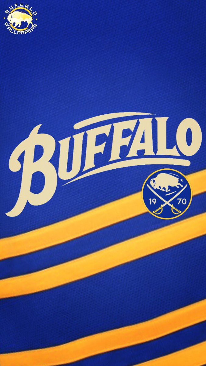 Buffalo Wallpapers On Twitter Sabres 40th Anniversary Jersey IPhone Wallpaper