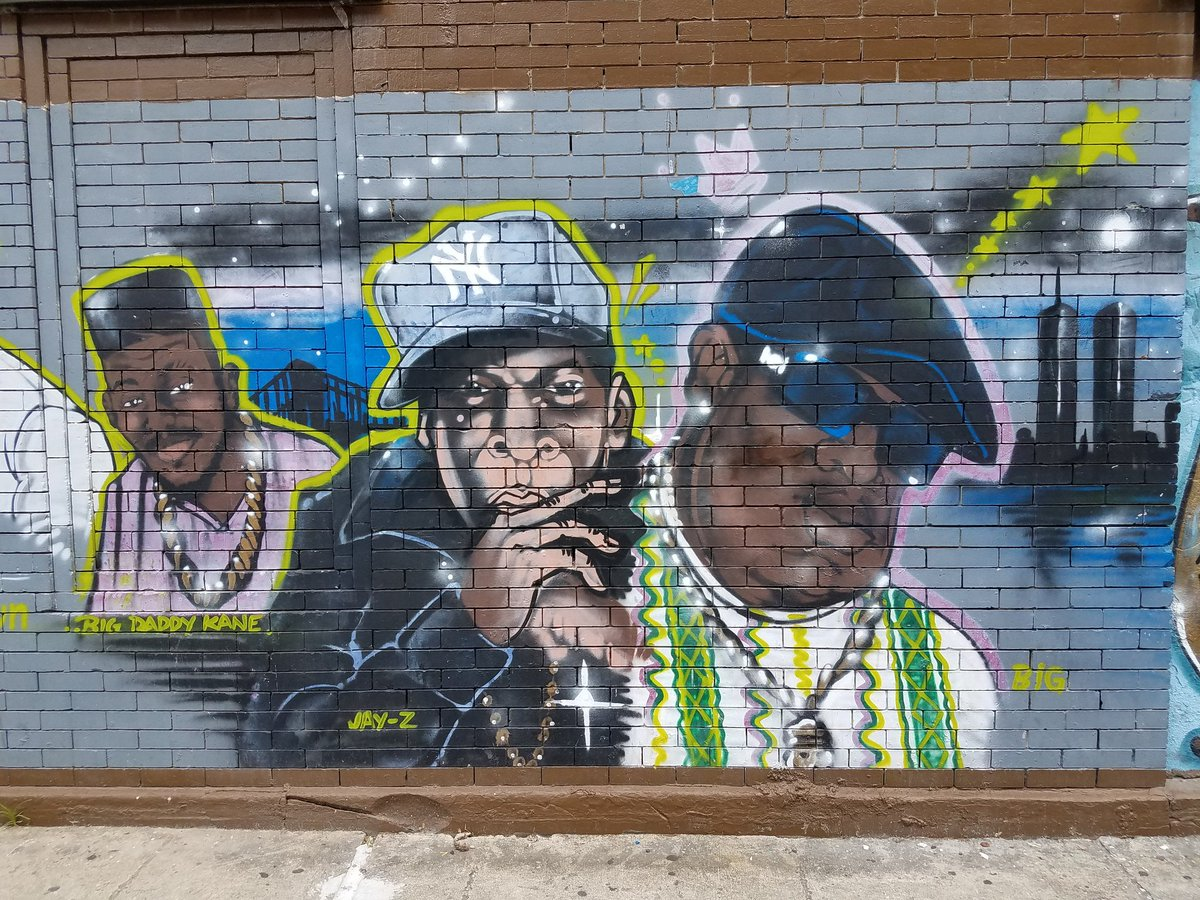 Mt Rushmore of #Brooklyn Hip Hop: #BigDaddyKane #JayZ #NotoriousBIG. Each one has changed the game.<br>http://pic.twitter.com/2wuzI4xPVn