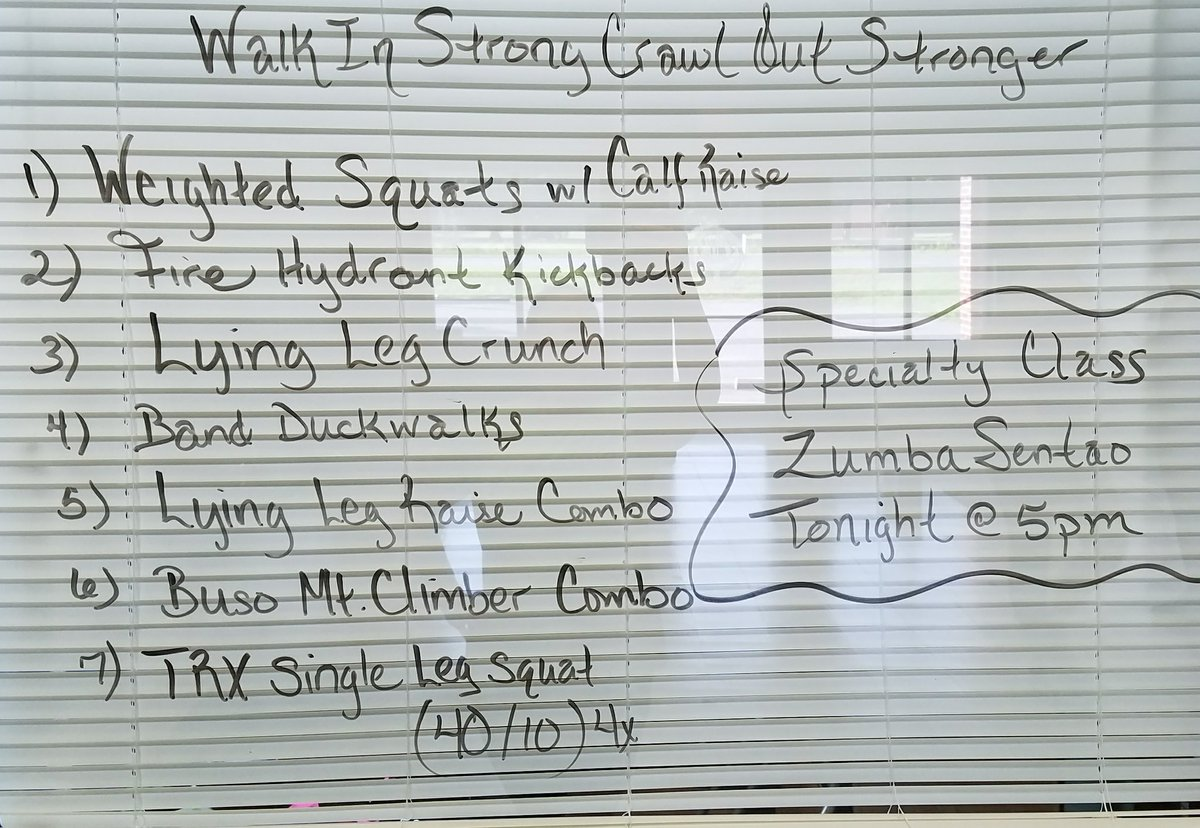 #GymTime!! Walk in strong, crawl out stronger. #LowerBody #Workout #HIIT #CircuitTraining<br>http://pic.twitter.com/yxPN8yQUCI