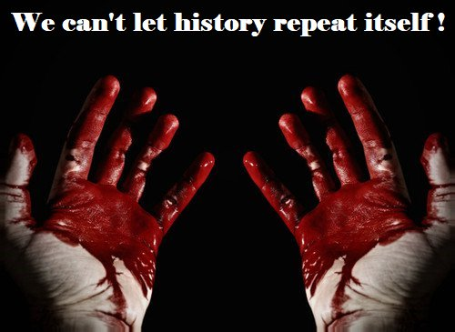 We can not let history  repeat! #Freedom #Leaders  #revolution #World #Liberté #égalité #fraternité #Liberdade #equality #Faith<br>http://pic.twitter.com/4XimaMSIyc