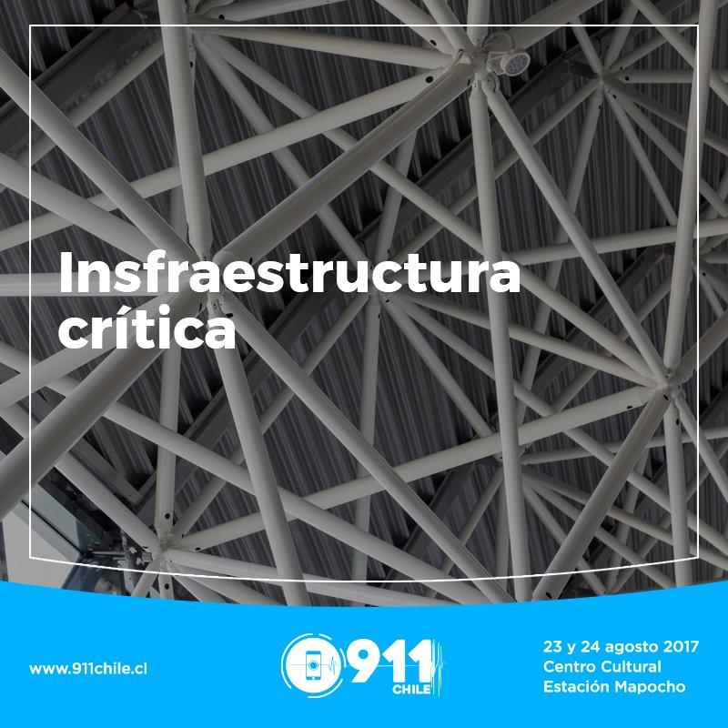 RT @Chile911 Infraestructura crítica y continuidad operacional en emergencias es un panel de #Encuentro911CL ¡participa! https://t.co/JDNFqDRmwP