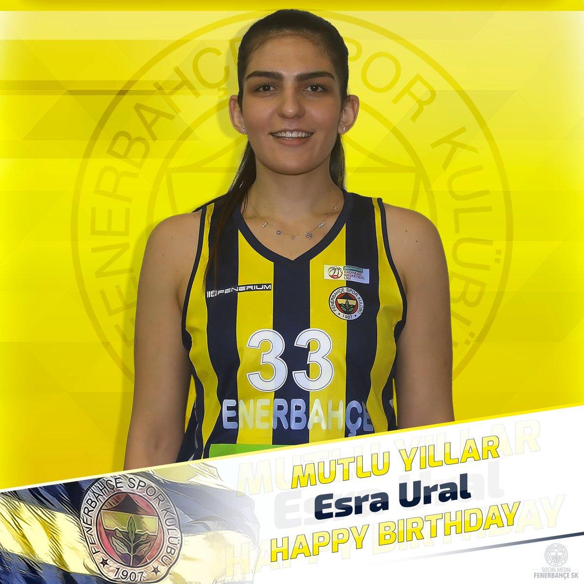 Bugün oyuncumuz Esra Ural'ın doğum günü. Mutlu Yıllar @esoural!