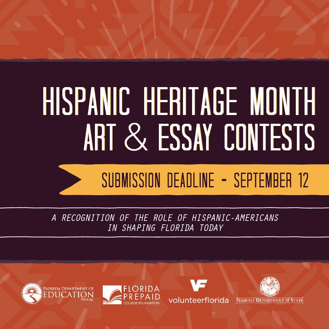 Othello Tragic Hero Essay Volusia Schools On Twitter The Hispanic Heritage Month Art K And Essay   Contests Are Now Open The Submission Deadline Is Sept Body Of Essay Example also Canadian Culture Essay Volusia Schools On Twitter The Hispanic Heritage Month Art K  The Roaring Twenties Essay