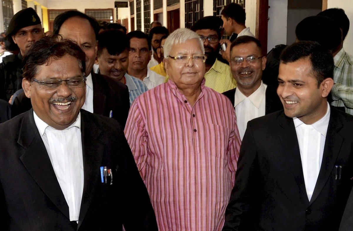 More trouble for Lalu Prasad Yadav and family, as I-T to file criminal prosecution against family https://t.co/YOiFuOJMuu