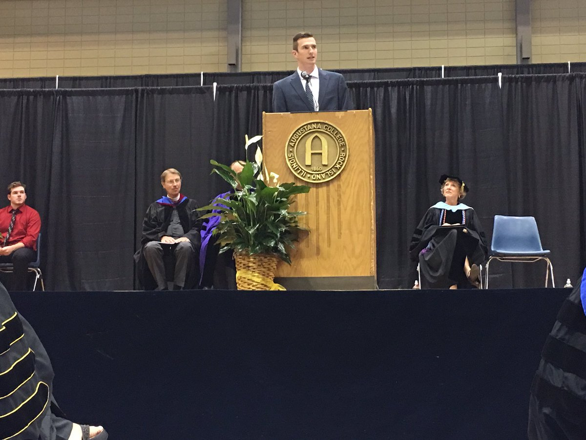 &quot;Like most things in life, you will get out of college what you put into it.&quot; - SGA president Allan Daly to the incoming class #Welcome <br>http://pic.twitter.com/6cQKhU6DVu