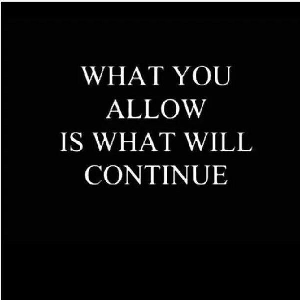 What you allow is what will continue #mentalhealth #recovery <br>http://pic.twitter.com/k2scspxcDe