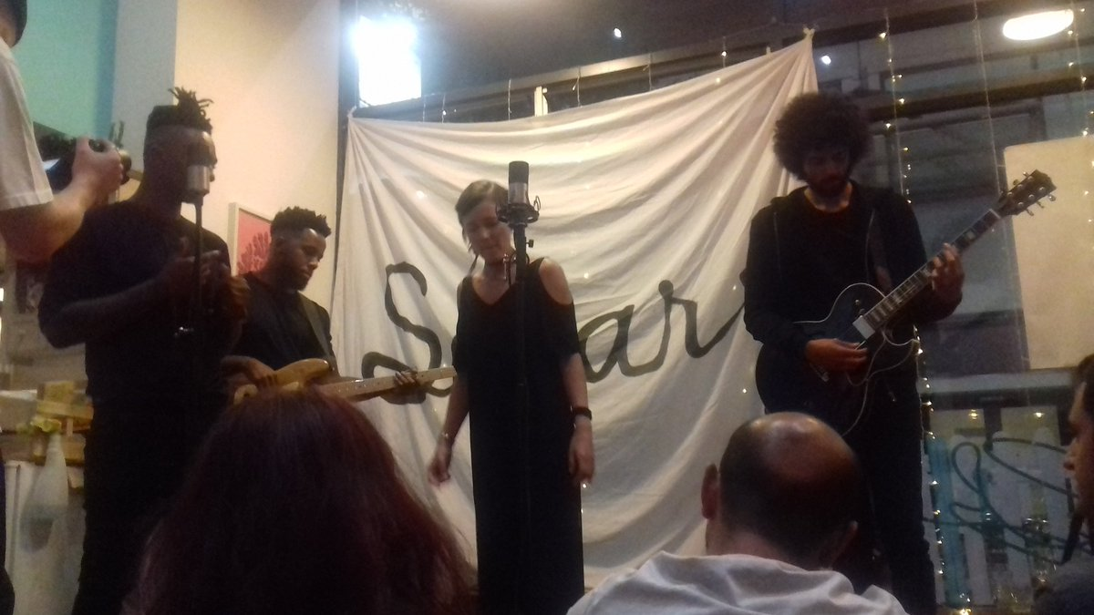 A totally ace @SofarNottingham in the @pudding_pantry! New loves = @NinaSmithMusic &amp; @LosFelizMusic. #Sofarsounds #music #gigs #Nottingham<br>http://pic.twitter.com/MIaebZUs6h