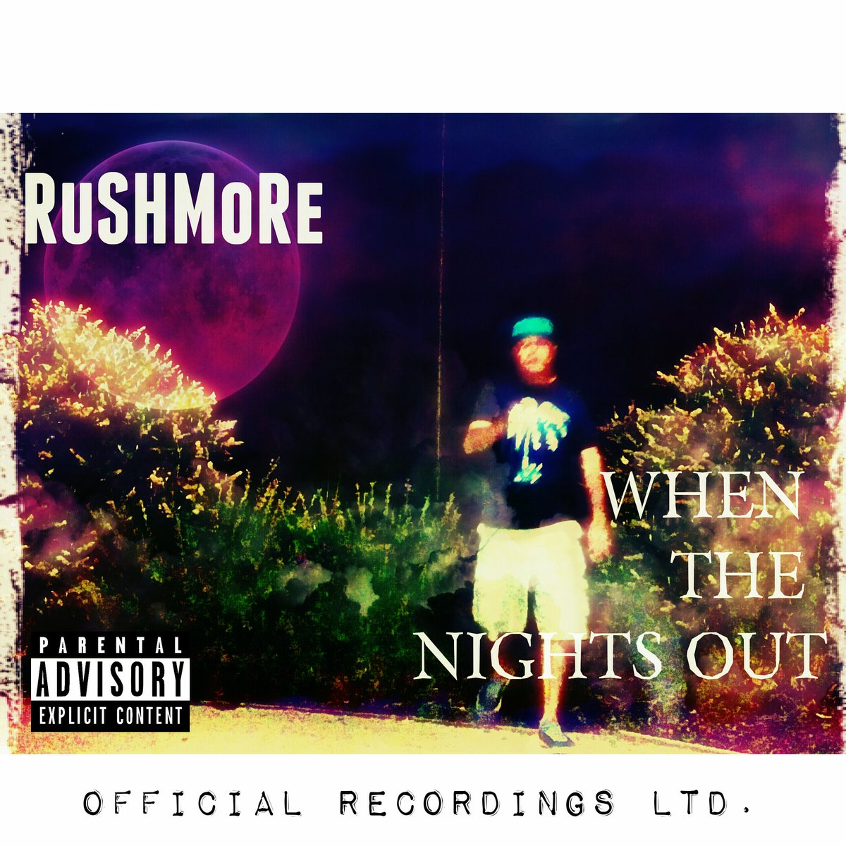 New Album: @RUSHMOREBEATS  - &quot;When The Nights Out&quot;  Coming Soon!   Check Out The  Album Cover Below   #HipHop #Official #BoomBap #NewMusic<br>http://pic.twitter.com/P7gphm0TVF