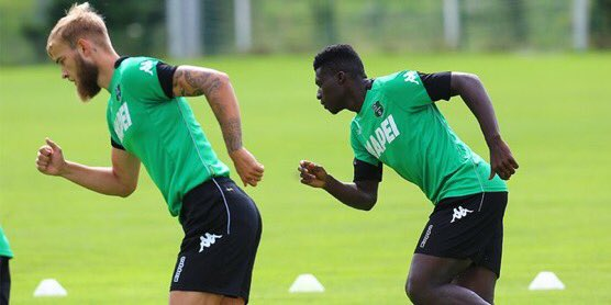 #Sassuolo midfielder Alfred Duncan is at risk of missing the opening game vs #Genoa due to a slight injury<br>http://pic.twitter.com/cWb18PBYKM