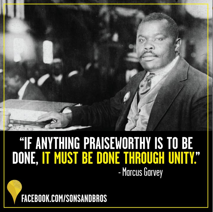 Today, we celebrate the life &amp; legacy of the great black nationalist leader, Marcus Garvey on his birthday. #BlackHistory #RBG <br>http://pic.twitter.com/Veq81sUeAo