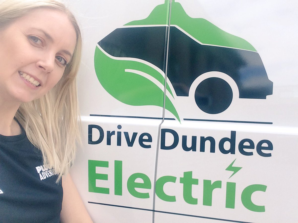 Great day @GreenFleetNews #Dundee Exciting to hear what @DundeeElectric @DundeeCouncil have planned &amp; to meet lots people interested in #EV<br>http://pic.twitter.com/NXD06LxHZv