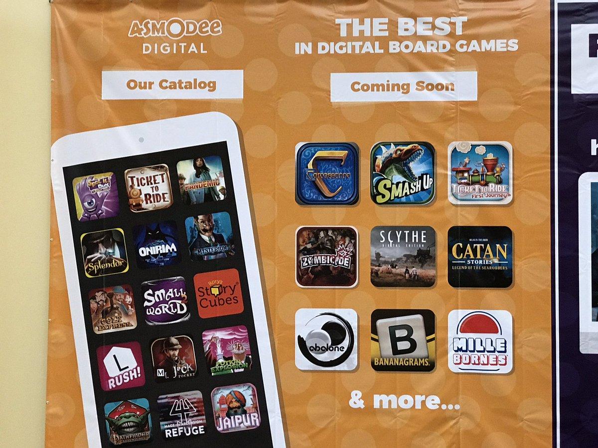 Asmodee Digitalが様々なアプリの発売予定を発表!