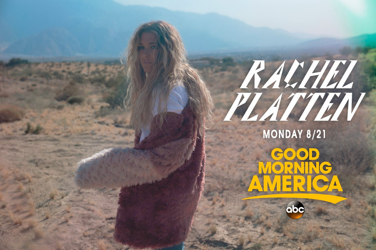 I can not wait to perform #BrokenGlass for the first time live on @GMA...