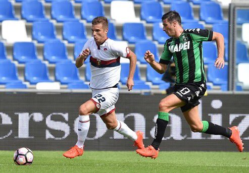 Last season, #Sassuolo beat #Genoa in both games, 2-0 at the Mapei Stadium and 1-0 at the Marassi<br>http://pic.twitter.com/6dlXxigdKD