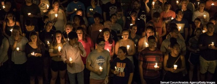 Candlelight vigil marches through Charlottesville: https://t.co/4E7kuVQls9