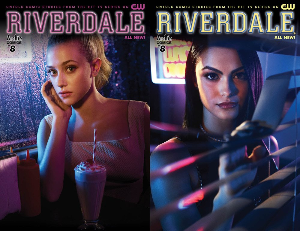 Betty and Veronica grace the covers of November&#39;s #Riverdale tie-in comic! See more covers here:  http:// bit.ly/2x77Dd3  &nbsp;  <br>http://pic.twitter.com/8lk9mRqp6Z