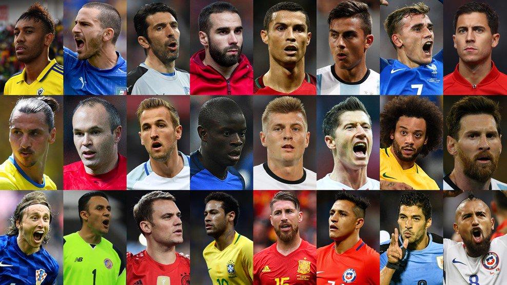 Real Madrid es el dominador entre los nominados al The Best de la FIFA...