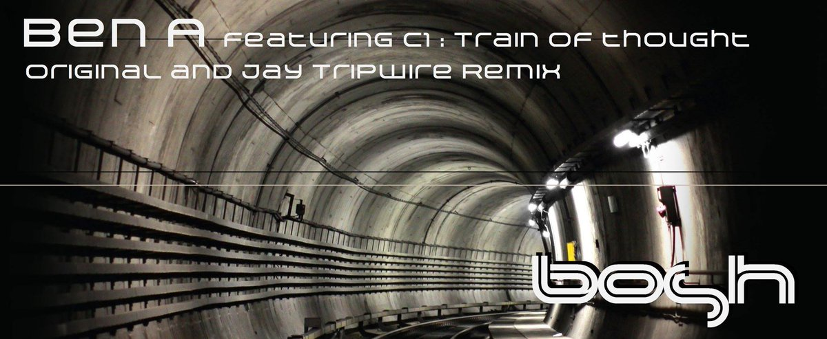 Train Of Thought&#39; Ep featuring #C1 with remix from @jay_tripwire on Bosh Recordings available on @beatport    https://www. beatport.com/release/train- of-thought/1773025 &nbsp; … <br>http://pic.twitter.com/YXvL7sikzP