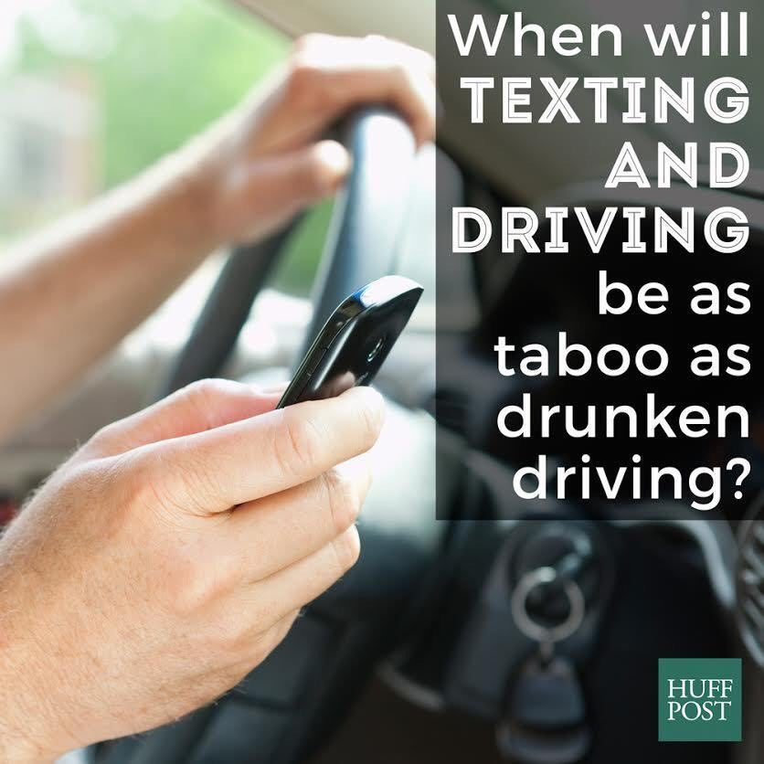 When will texting &amp; driving be as taboo as drunk driving? #safety #RoadSafety<br>http://pic.twitter.com/VNRXPr2BOs