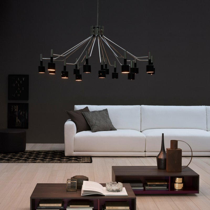 Ella Chandelier is an iconic #midcenturymodern chandelier, perfect for a contemporary living room. Get to know  https:// goo.gl/rR2j1J  &nbsp;  <br>http://pic.twitter.com/tq3ZZYNeU5