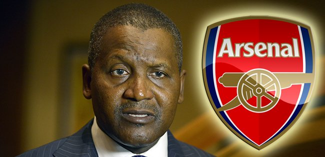 Africa's richest man, worth £10bn, wants to buy Arsenal and declares 'first thing' he would do is sack Arsene Wenger https://t.co/6048txF2r6
